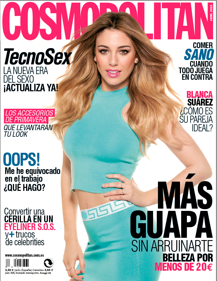 Valero Rioja Photography Cover Cosmopolitan Blanca Suarez 1