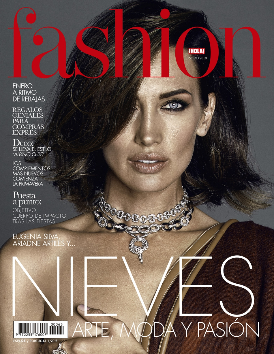 Valero Rioja Photography cover Nieves Alvarez Hola Fashion 1