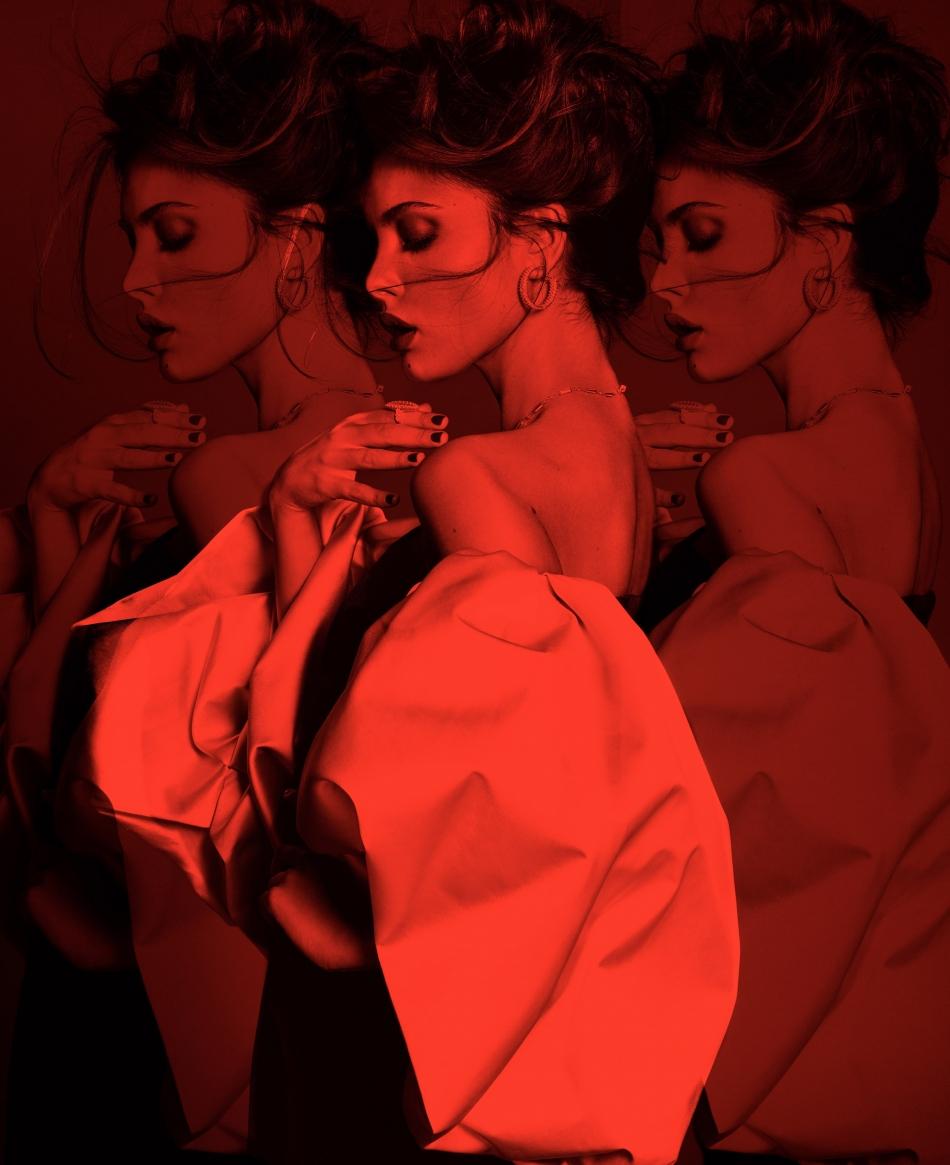 Valero Rioja Photography cover Paula Boluda Fashion Magazine