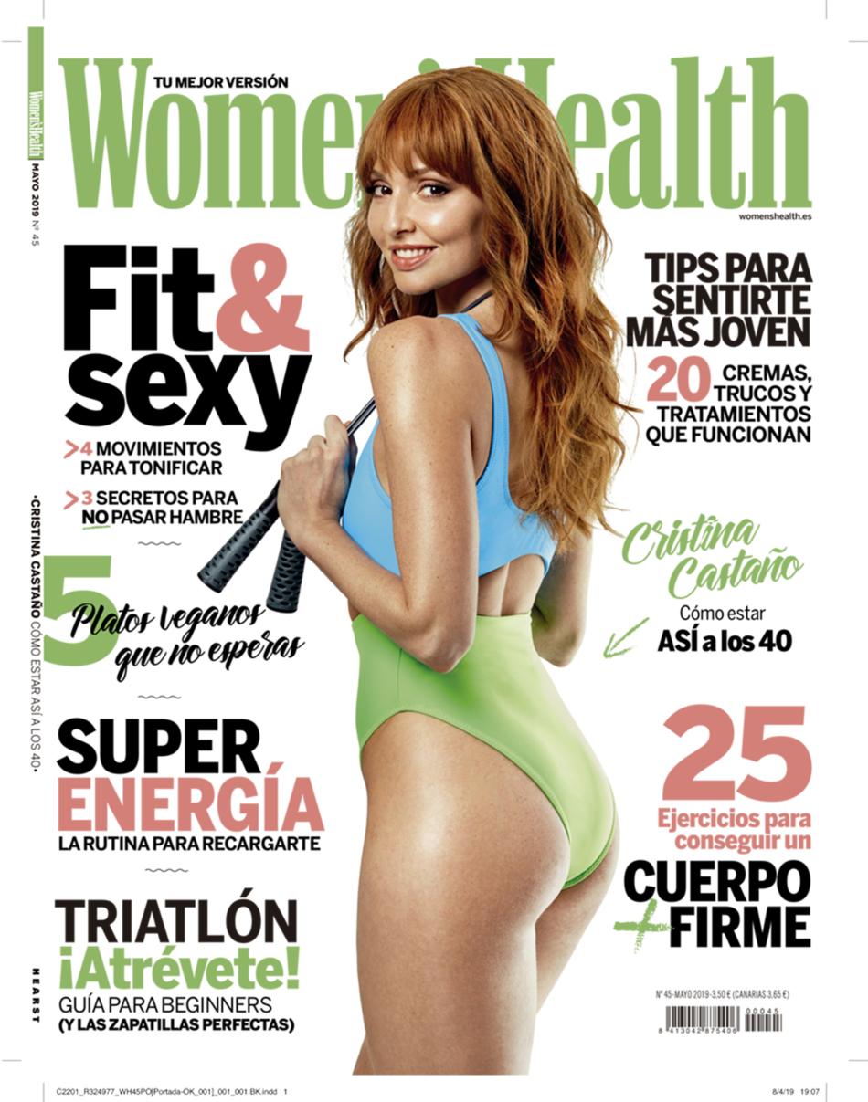Valero Rioja Photography cover Womens health Cristina Castaño